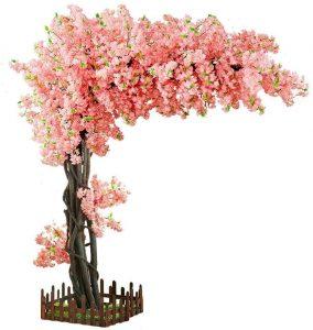 Árbol de cerezo artificial